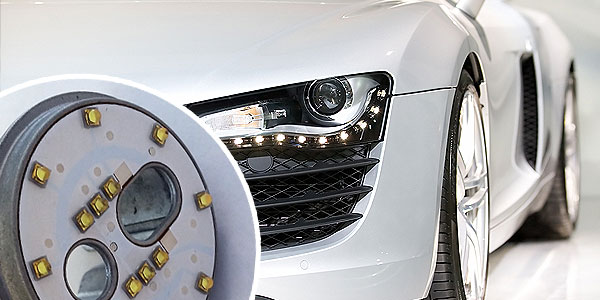 power lighting for automotive & entertainment
